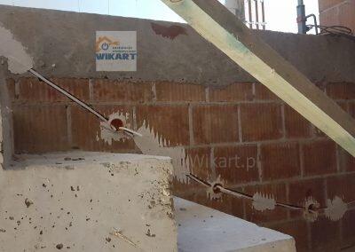 Bruzdowanie ścian i układanie przewodów (8)