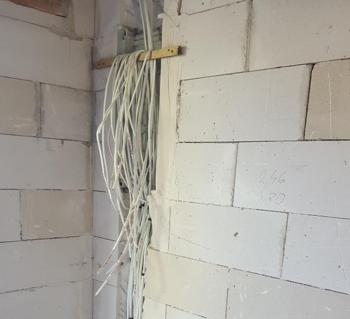Montaż rozdzielnicy i rozprowadzenie instalacji